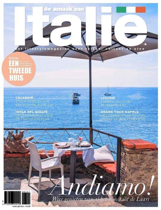 magazine De Smaak van Italië (editie 106), jouw reisgids voor Italië