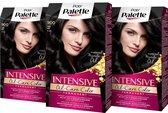 Poly Palette 900 Zwart Haarverf 3x - Voordeelverpakking