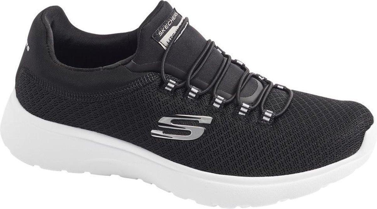 Skechers Dames Zwarte sneaker memory foam - Maat 39