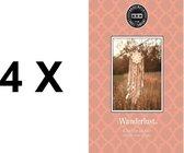 Bridgewater Geurzakje   Sachet Wanderlust 4X Voordeelverpakking