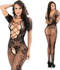 Uitdagende Body   Uitdagende Open Kruis Body   Sexy Lingerie Set   One Size Body   Sexy Lingerie Setje   Zwart