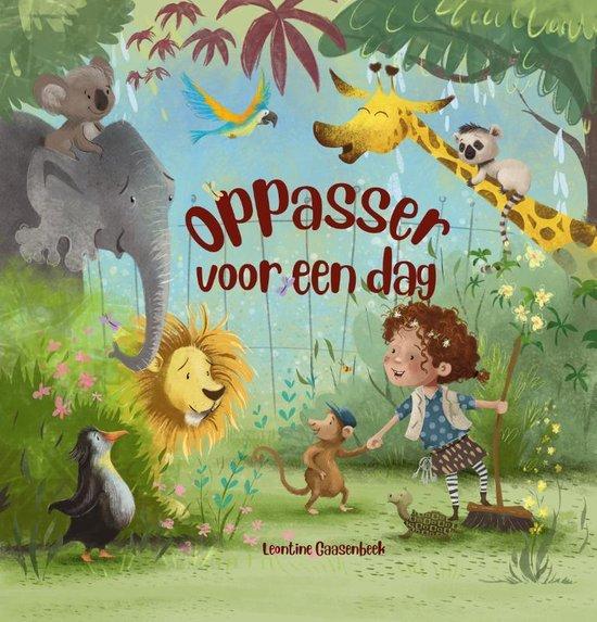Boek cover Oppasser voor een dag van Leontine Gaasenbeek (Hardcover)