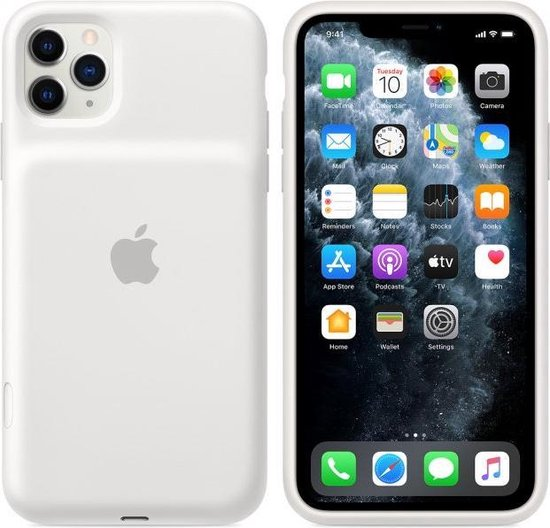 Apple Smart Battery Case met draadloos opladen voor Apple iPhone 11 Pro Max - Wit