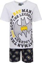 Batman - Shortama - Wit - 6 jaar -  Maat 116