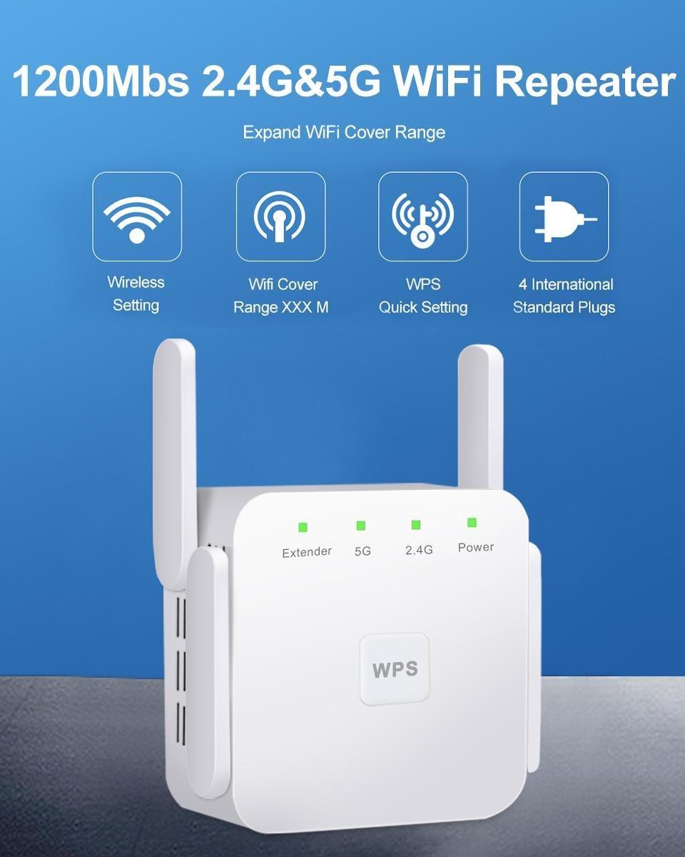 Wifi versterker draadloos