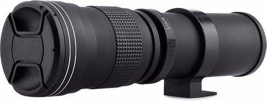 Andoer 420-800mm F8.3-16 super telelens zoomlens voor Canon EOS EF body's