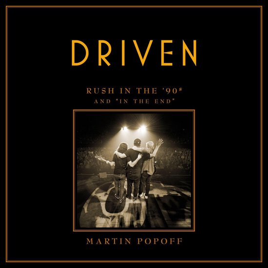 Boek cover Driven van Martin Popoff (Onbekend)