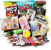 Japans Snoep en Snack Pakket - Chips - Marshmallow Mochi - Kitkat Chocolade - Kerst Cadeaupakket - Verassingspakket- Moederdag Cadeau GiftBox (13 stuks)