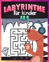 Labyrinthe Für Kinder Ab 6: dinosaurier labyrinth puzzle /dem Dinosaurier Labyrinthe Buch für Kinder (Malbücher + Labyrinthe) /Geschenke für Junge