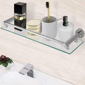 Pippa Design - badkamerplank - glas - 50 x 3 x 14cm