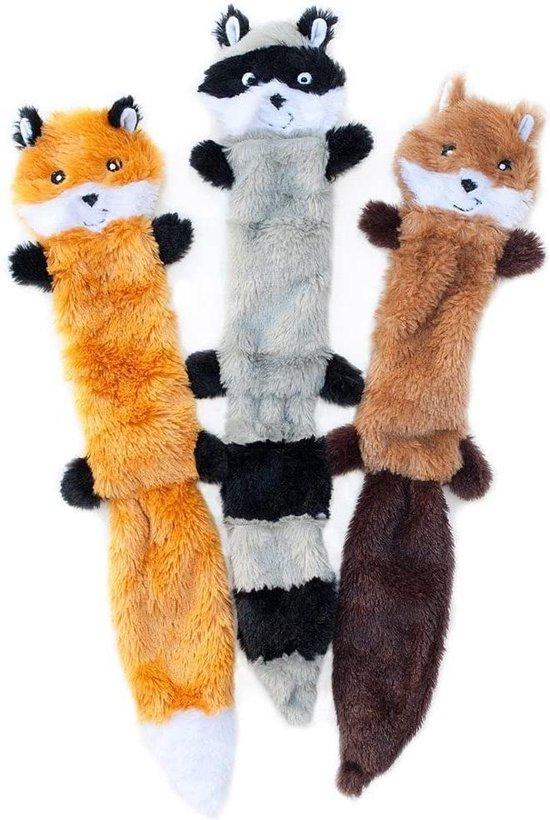 Prival Hondenspeelgoed - Honden Speelgoed - Hondenspeeltjes - Hondenknuffel - 3Stuks - Knuffel