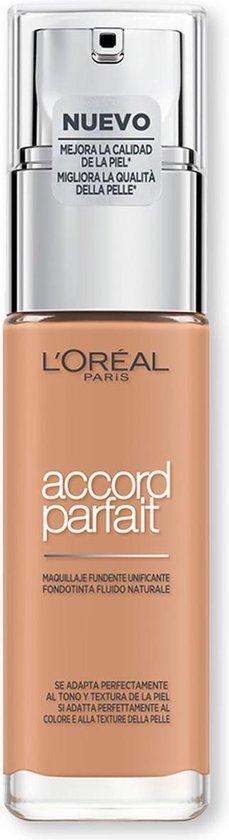 Accord Parfait Foundation #7r-ambre Rose 30 Ml