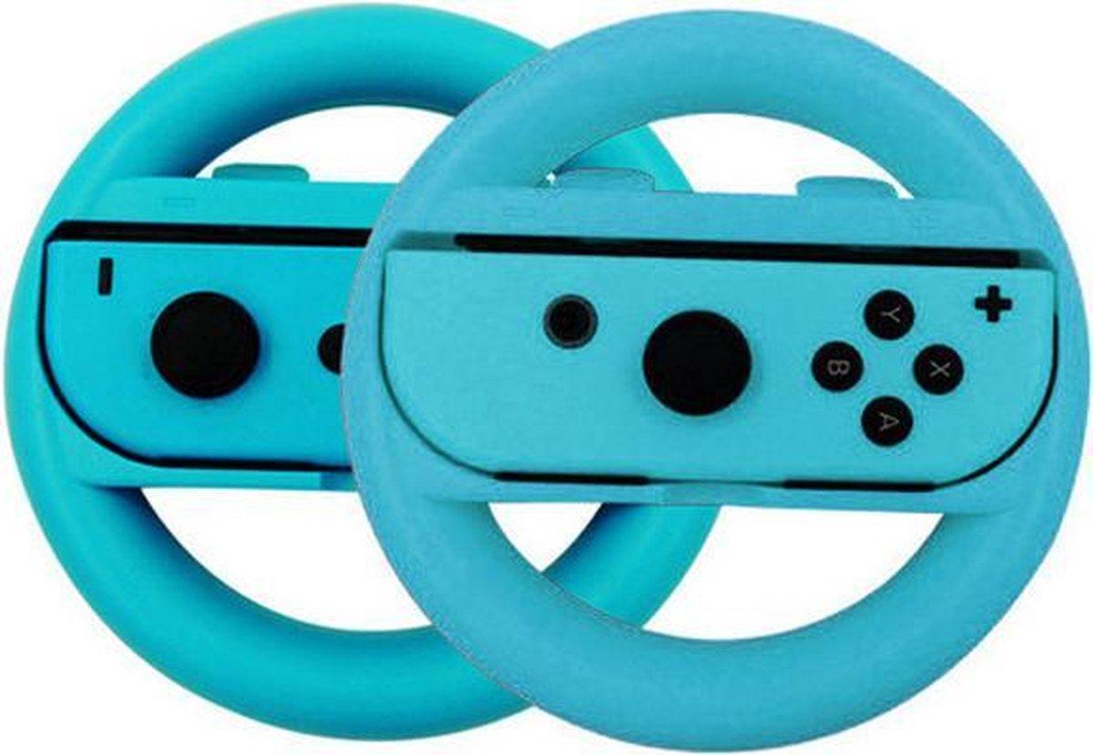 Switch stuur voor Joy-Con - 2 stuks - Blauw - Geschikt voor Nintendo Switch - Nintendo Switch Access