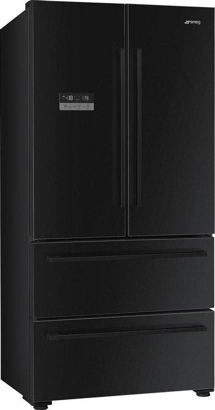 Koelkast: Smeg FQ55FNDF amerikaanse koelkast Vrijstaand 539 l F Zwart, van het merk Smeg