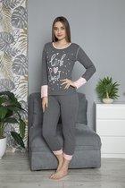 ⭐Derin's Dames Luxe Pyjama | 2-delige Set | Lange Mouwen | Pyjama Dames Volwassenen | Pyjama Dames |