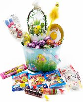 Snoep Chocolade Paaspakket - Pasen Chocolade - Geschenk pakket Pasen - Pasen Giftbox- Paaseitjes Chocolade