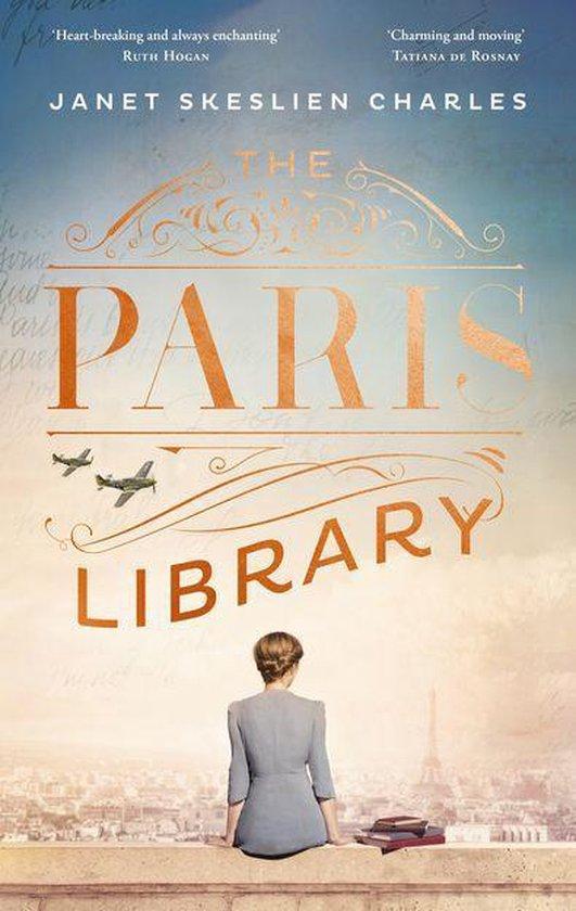 Boek cover The Paris Library van Janet Skeslien Charles (Onbekend)