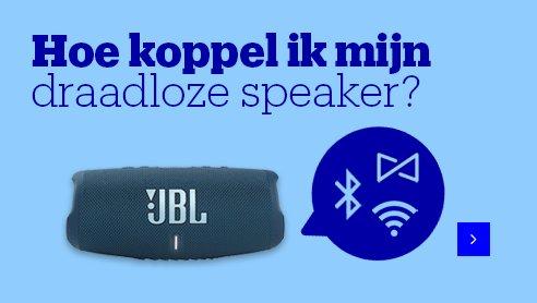 Informatie over speakers koppelen