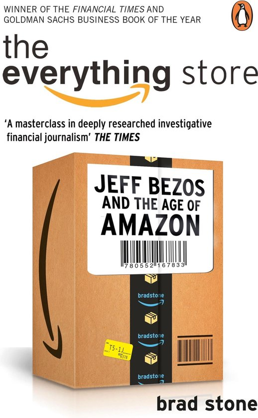 Boek cover The Everything Store: Jeff Bezos and the Age of Amazon van Brad Stone (Onbekend)