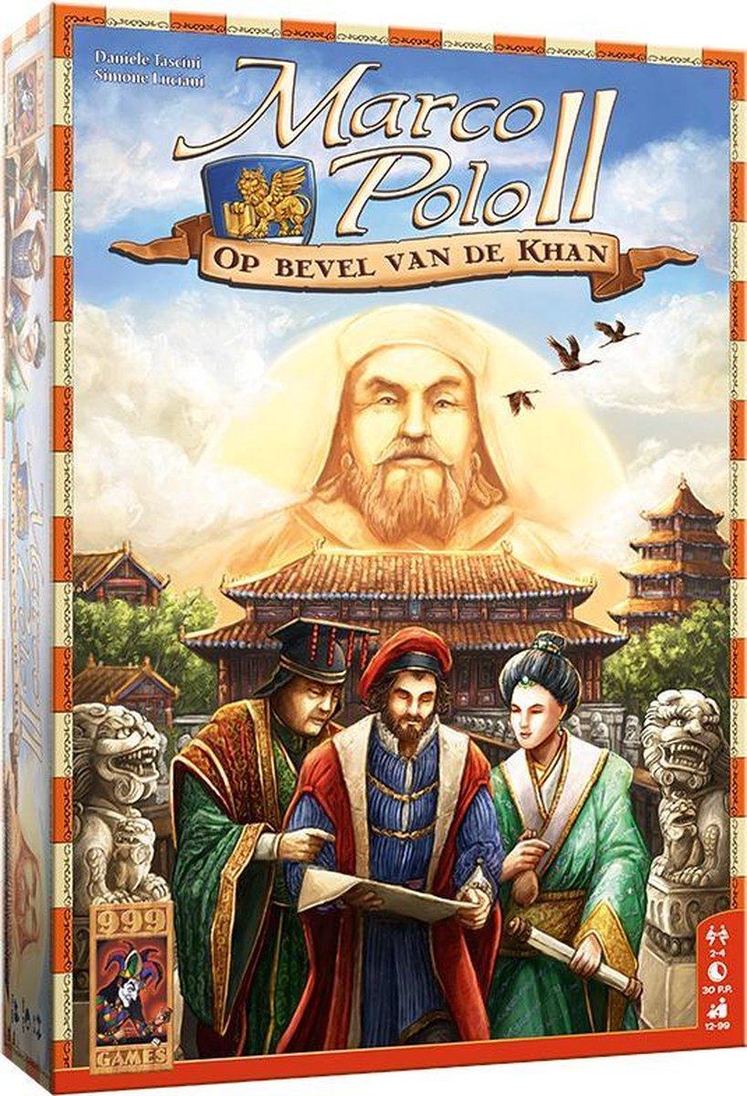 Marco Polo II: Op bevel van de Khan Bordspel