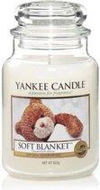 Yankee Candle Large Jar Geurkaars - Soft Blanket