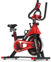 SOUTHWALL Hometrainer Flywheel - 6kg - zwart/rood - fitnessfiets