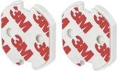 Stopcontact beveiliging 10 stuks - zelfklevende stopcontact beveiligers 10 stuks - stopcontact beschermers 10 stuks - zelfklevende stopcontact beveiligers 10 stuks - bescherming - kind - 10 stuks