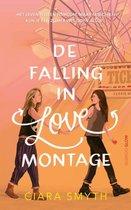 De falling in love montage