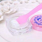 10 Stuks - Cosmetische spatels - Crème - Make-up stokjes - Face mask - Make up gadgets - Roze - Plastic - Smeerspatels voor make up - Gezichtsmasker - Stokjes - Maskerkwast