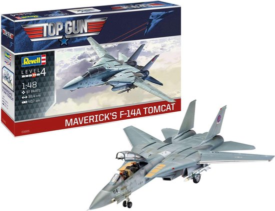 1:48 Revell 03865 Maverick's F-14A Tomcat 'Top Gun' Plastic kit