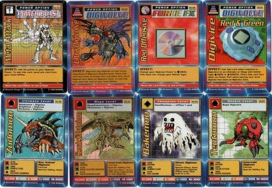 Afbeelding van het spel Digimon Digi-Battle Card Game Starter set