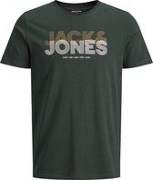 JACK&JONES JCOLEXUS TEE SS CREW NECK FST LTN Heren T-shirt - Maat M