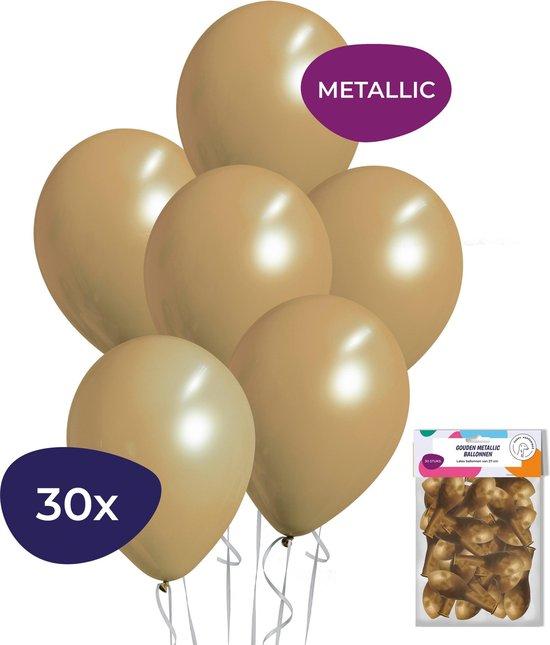 Metallic Ballonnen - Goud - 30 Stuks - Gouden ballonnen