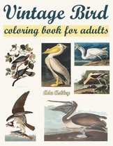 Vintage Bird Coloring Book for Adults