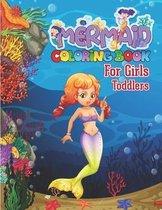 Mermaid Coloring Book for Girls Toddlers
