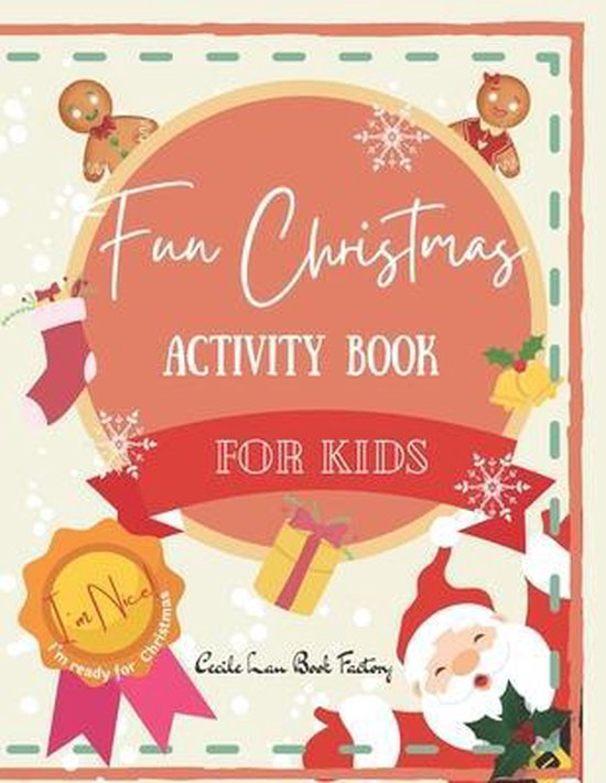 Fun Christmas Activity Book For Kids
