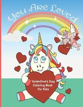 You Are Loved Valentine's Day Coloring book