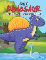 Cute Dinosaur Coloring Book for Kids