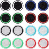 Thumb grips - 8 Paar = 16 Stuks - Voor de volgende game consoles: PS3 - PS4 - PS5 - Xbox - Xbox One - Xbox 360- Thumbgrips - Gaming accessoires - Playstation - Pro gaming set - Thumb grips voor controllers - Thumbs
