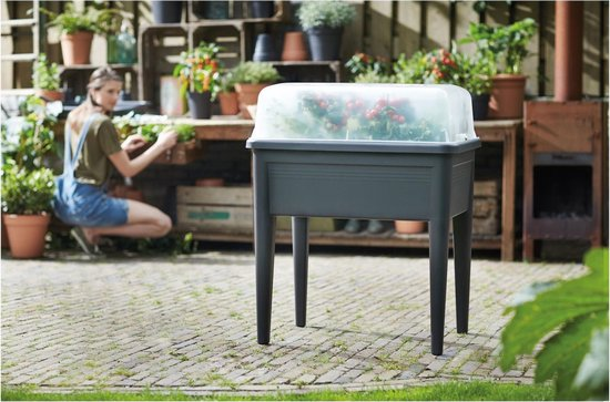 Elho Kweektafel green basic super xxl living black