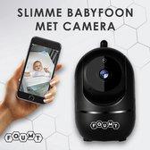 Roxiq - babyfoon BF1 zwart - 1080P HD wifi camera - met app functie - geluidsdetectie