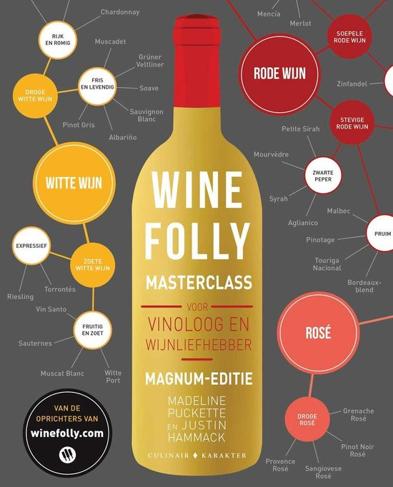 Boek cover Wine Folly Masterclass van Madeline Puckette (Paperback)