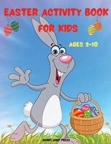 Easter Activity Book for Kids Ages 3-10