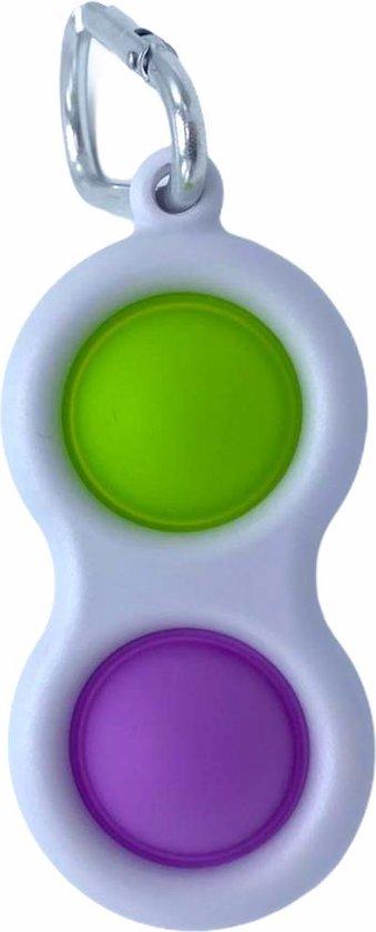 Simple Dimple - Fidget Toy - Groen - Paars