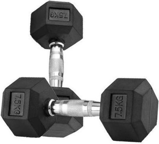Strongman hexa dumbbell 7,5 kg