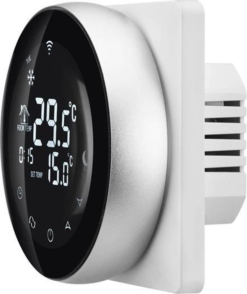 DrPhone TW1 - Thermostaat - Touchscreen - Kamerthermostaat - Smart Wifi - Wit