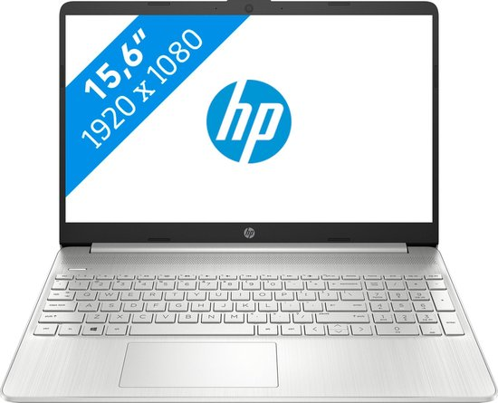 "HP 15s-fq2965nd DDR4-SDRAM Notebook 39,6 cm (15.6"") 1920 x 1080 Pixels Intel® 11de generatie Core™ i5 8 GB 512 GB SSD Wi-Fi 5 (802.11ac) Windows 10 Home Zilver"