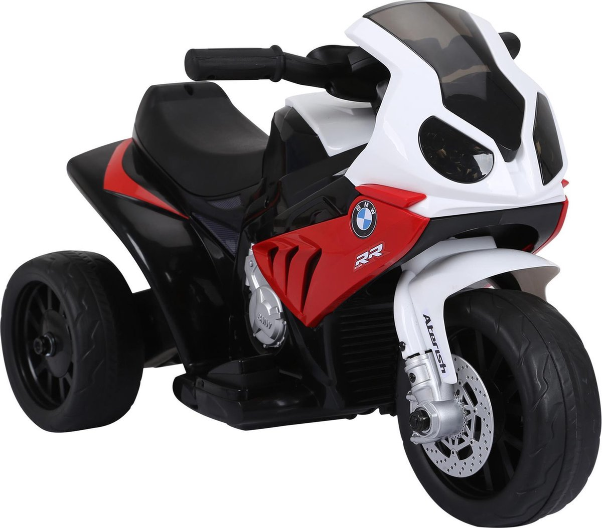 Elektrische Kindermotor - Elektrische Kinderscooter - Speelgoed - 18-36 maanden - Rood - 66 x 37 x 4