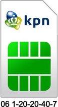 06 1-20-20-40-7 | KPN Prepaid simkaart | Mooi en makkelijk 06 nummer