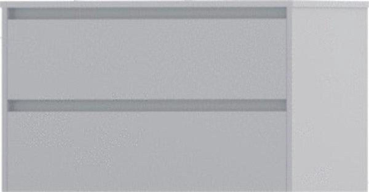 WaveDesign by Wisa Wastafelonderkast H52xB90xD44.6cm rechthoek